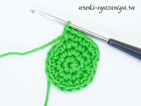 круговое вязание крючком