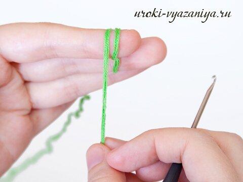 как вязать крючком по кругу