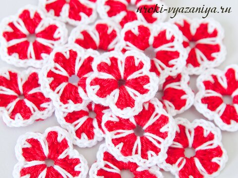 fiori crochet